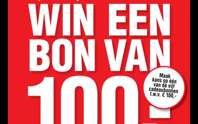Kassabon actie win 100 euro