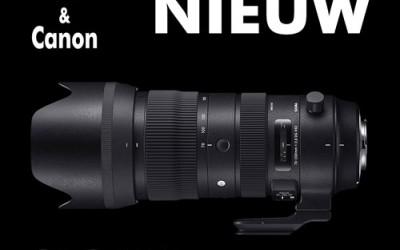 Nieuw! SIGMA 70-200mm F2.8 DG OS HSM Sports
