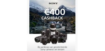 Sony Caschback Winteractie 2020-2021