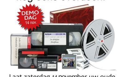 Inleverdagen analoge film, video, foto en audio
