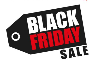 Black Friday woensdag 25 t/m zondag 29 november