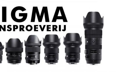 Sigma Lensproeverij en Sony dag met Gustav Kiburg