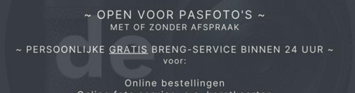 Onze service gaat gewoon 100% door