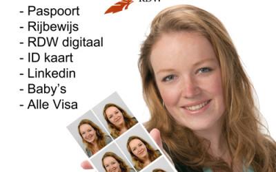 Pasfoto maken