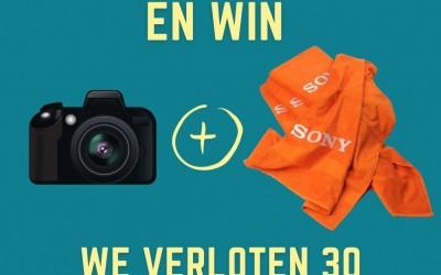 Koop een camera en win een badlaken