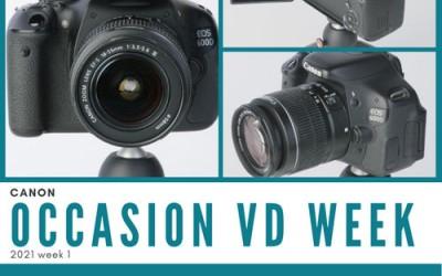 Occasion van de week 2020-01 - Canon 600D