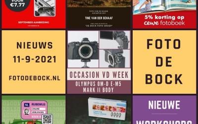 Foto De Bock Nieuws 11-9-2021