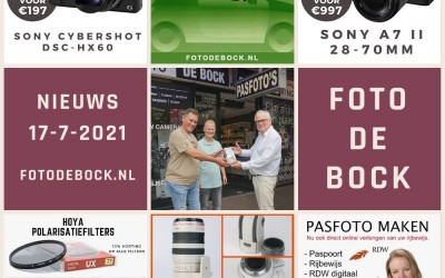 Foto De Bock Nieuws 17-7-2021