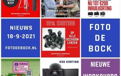 Foto De Bock Nieuws 18-9-2021