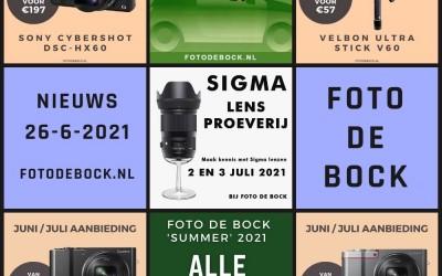 Foto De Bock Nieuws 26-6-2021