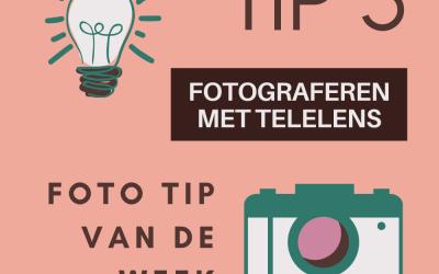 Foto TIP van de week (3) - Fotograferen met je telelens