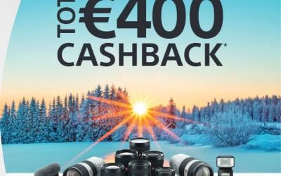 Sony Cashback 13-10-2021 t/m 15-1-2022