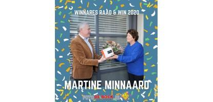 Raad & Win 2020 prijsuitreiking