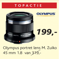 Olympus M. Zuiko  45mm F1.8