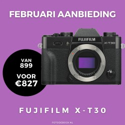 Fujifilm X-T30 body - februari aanbieding (Na cashback€727)