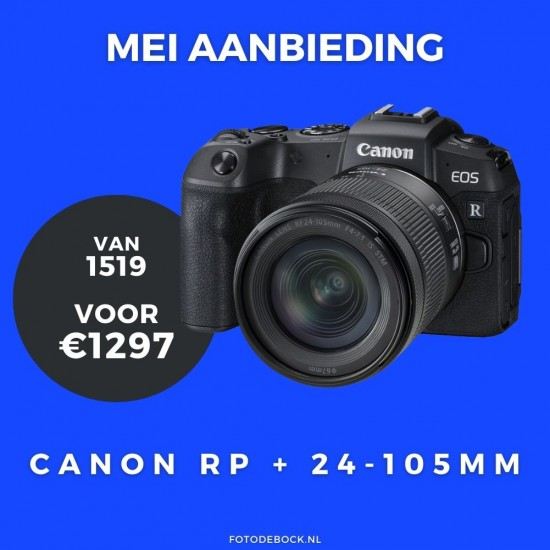 Canon EOS RP 24-105 is stm - aanbieding