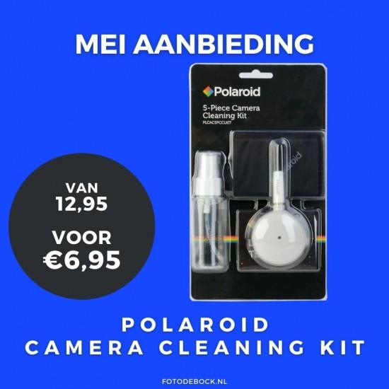 Polaroid camera cleaning kit
