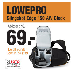 Lowepro Singleshot Edge 150 AW black