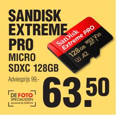 SANDISK Extreme Pro MICRO SDXC 128GB