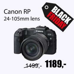 Canon EOS RP 24-105 is stm