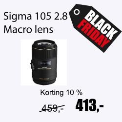 Sigma 105mm F2.8 Macro EX DG OS HSM voor Canon