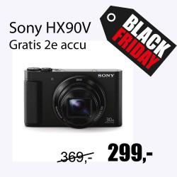 Sony DSC-HX90V zwart