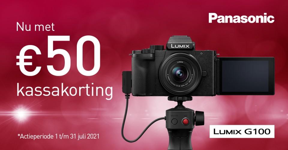 Panasonic Lumix G-100 kassakorting