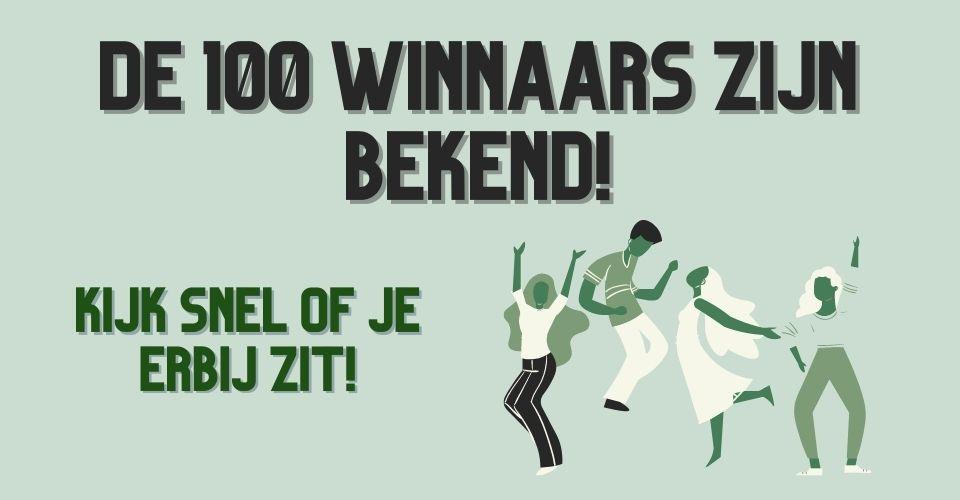 100 Winnaars