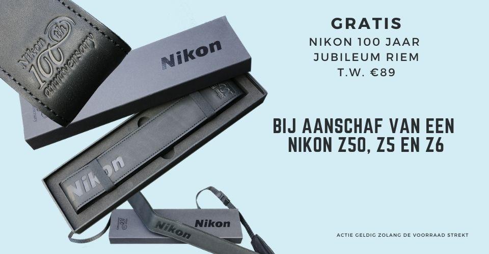 gratis Nikon 100 jaar jubileum