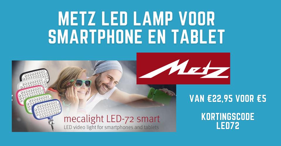 Metz Led lamp