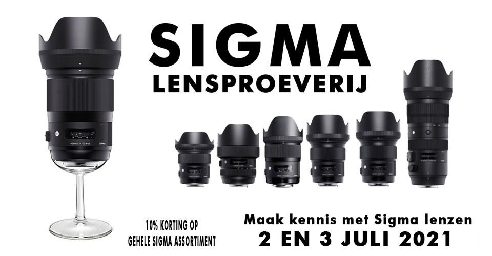 Sigma Lensproeverij