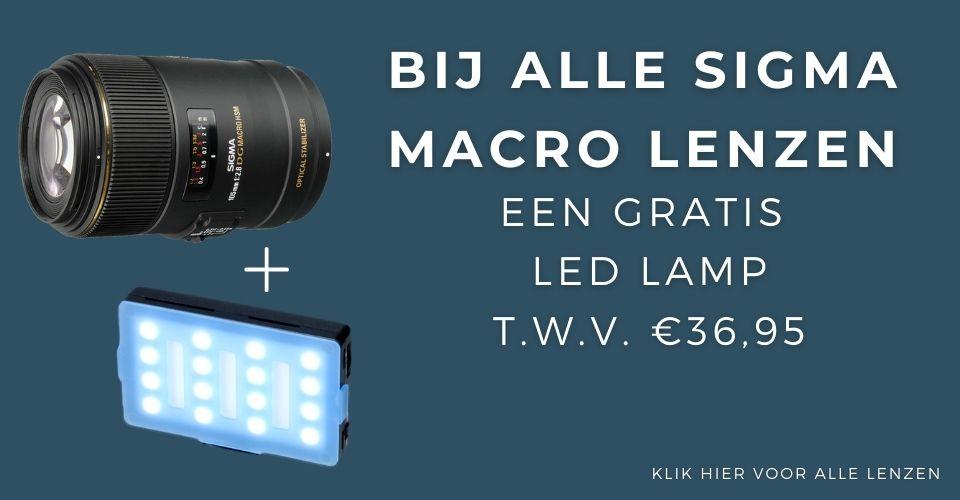 Sigma gratis led lamp