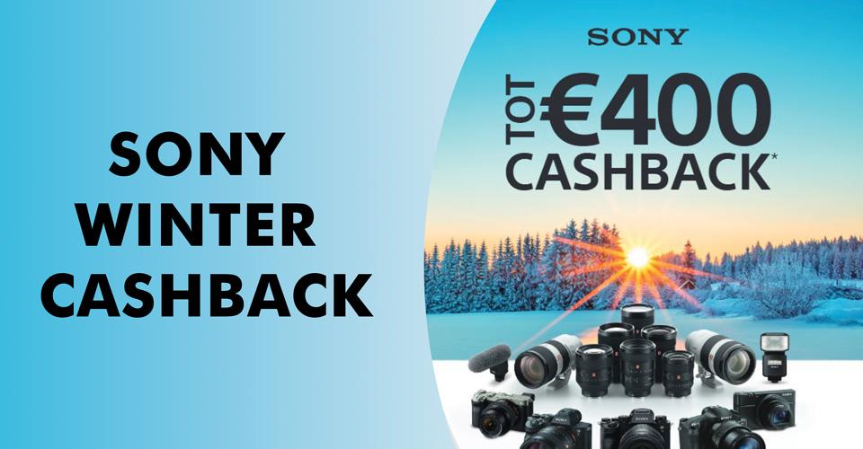 Sony Winter Cashback 2021-2022