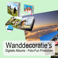 fotolab wanddecoraties digitale albums foto-funprodckten