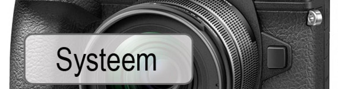 Systeemcamera's