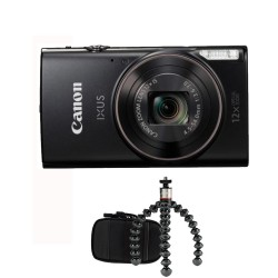 Canon Ixus 285 HS zwart Travel Kit