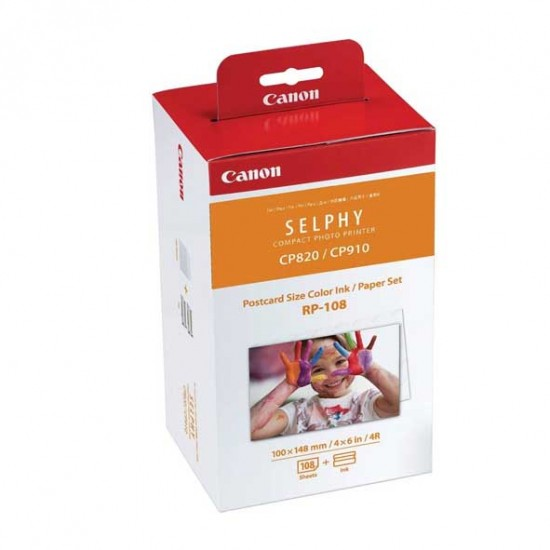 Canon Selphy RP-108 paper set