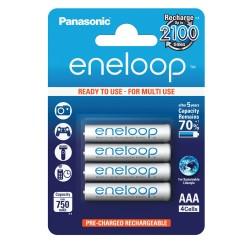 Panasonic Eneloop AA NiMh 750mAh (4 stuks)