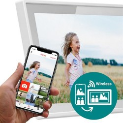 Frameo Digitale Fotolijst HF-101W Wit10.1 Inch