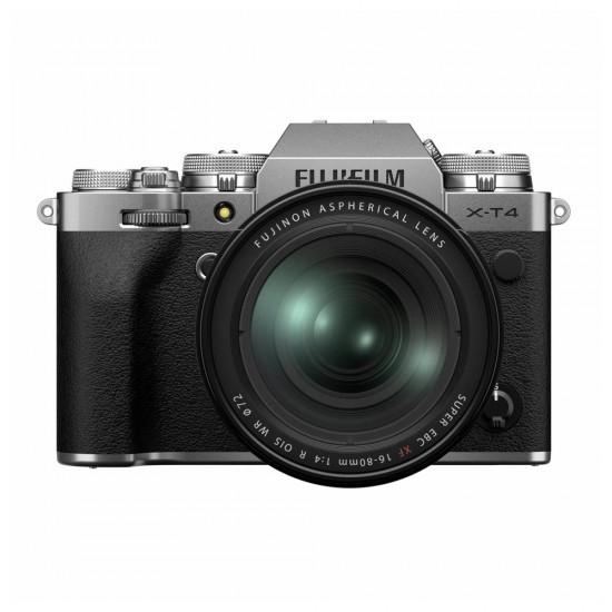 Fujifilm X-T4 zilver + XF 16-80 f/4.0 R