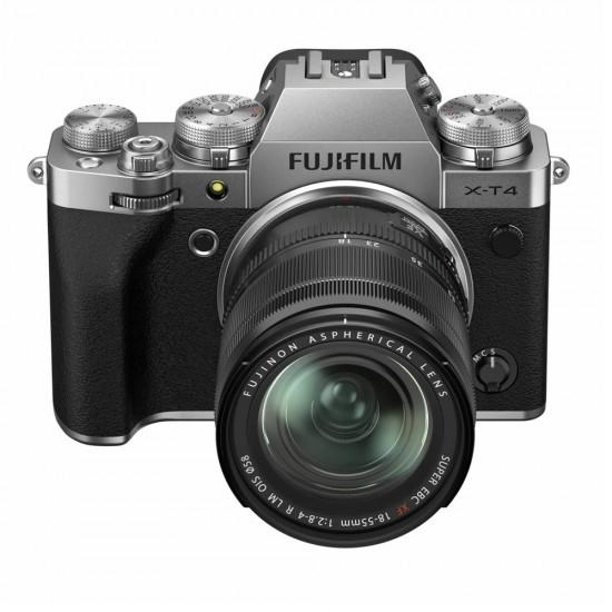 Fujifilm X-T4 zilver + XF 18-55 f/2.8-4.0 R LM