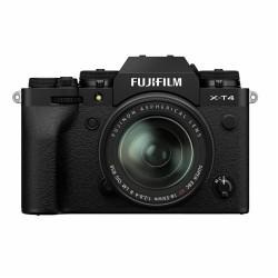 Fujifilm X-T4 zwart + XF 18-55 f/2.8-4.0 R LM