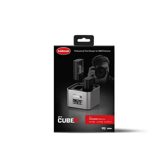Hähnel Cube2 pro lader voor Canon