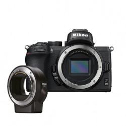 Nikon Z50 body +  ftz adapter