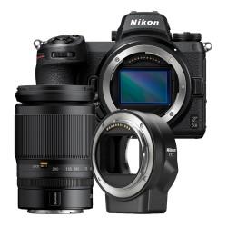 Nikon Z6 II + 24-200mm F4.0-6.3 + FTZ adapter