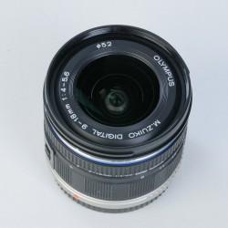 Occasion: Olympus Zuiko 9-18mm F4-5.6 ED MFT