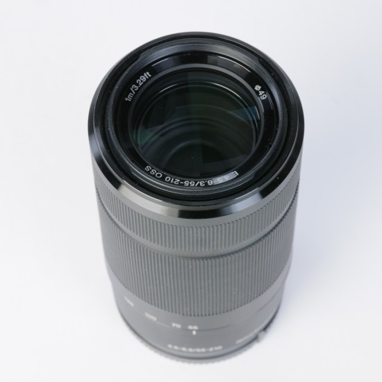 occasion: Sony 55-210 mm E-Mount telezoom