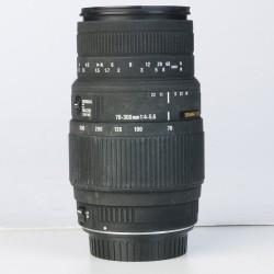 Occasion: Sigma 70-300mm  DG F 4-5.6  Macro voor Canon EOS (870)