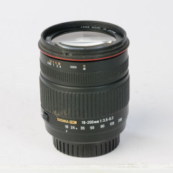 Occasion: Sigma 18-200 mm DC F: 3.5-6.3 voor Sony A mount