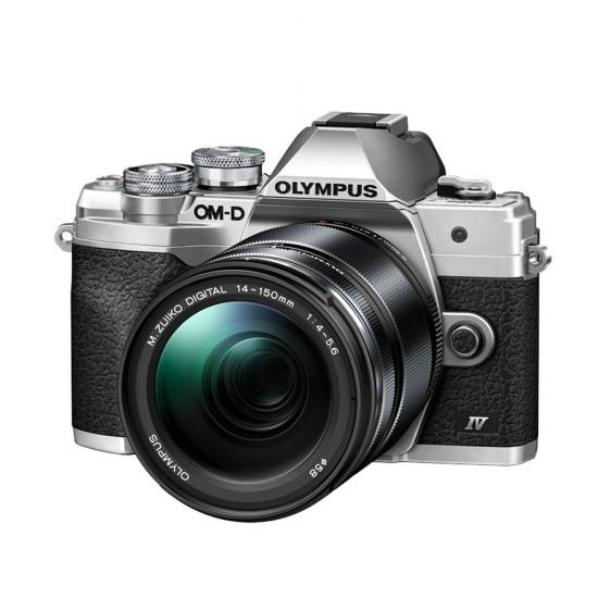 Olympus OM-D E-M10 mark IV zilver + 14-150mm